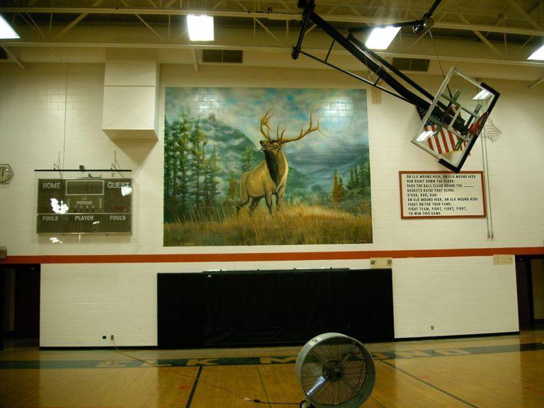 Elk Mound High School Mural