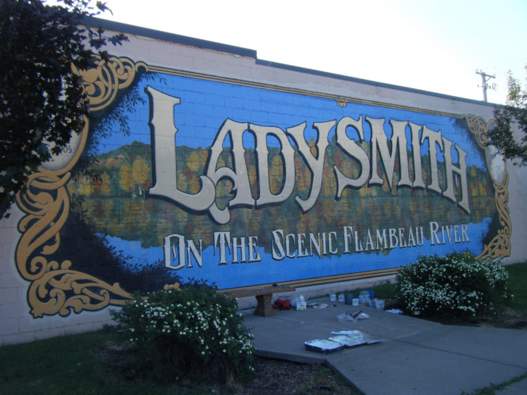 Ladysmith Mural Repair