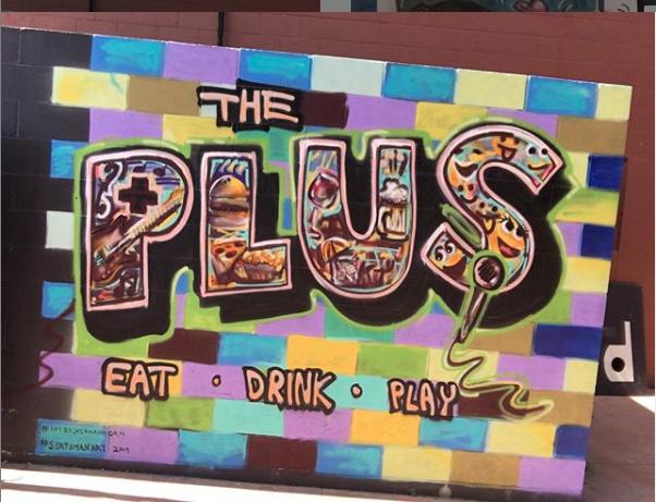 The Plus Mural