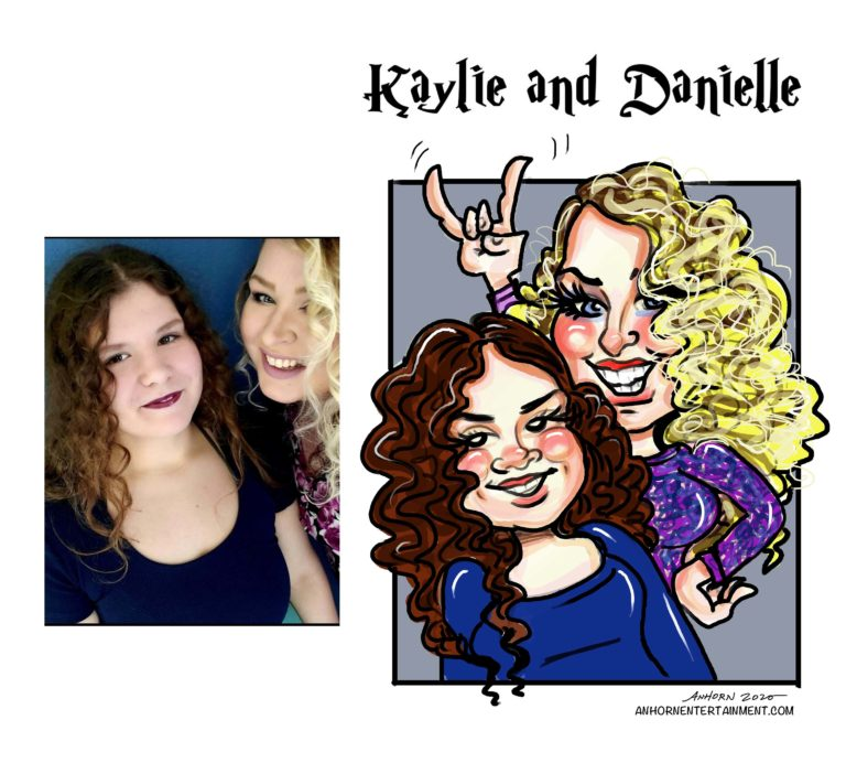 Kaylie and Danielle
