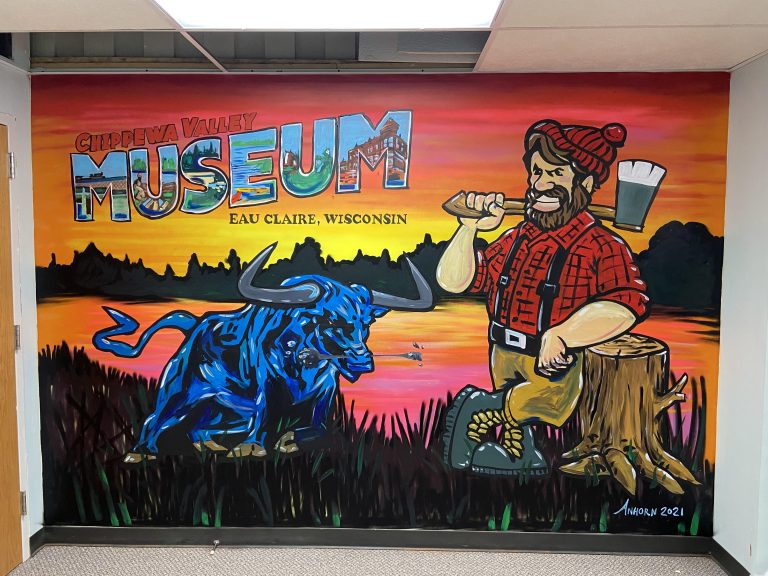 Chippewa Valley Museum Mural Painting